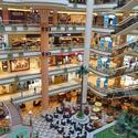 Suburban malls