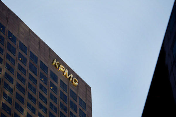 The offices of accounting firm KPMG in Los Angeles.