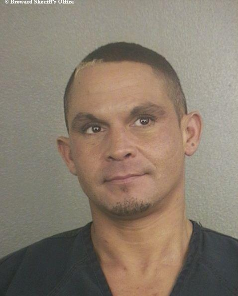 Daniele Santos, 36, is accused of beating his mother, 68, in Wilton Manors