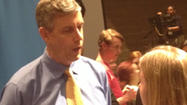 U.S. Education Secretary Arne Duncan told parents, students and educators in Baltimore County on Wednesday that while Americans might not agree on gun control legislation, they must work together so that children can grow up without fear of violence in schools.
