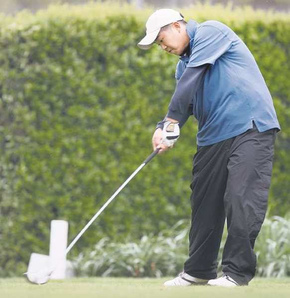 AHChIVE PHOTO: Crescenta Valley High graduate John Huh is preparing for his first Masters experience.