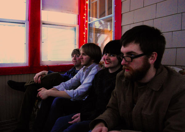 The members of Jade and the Greenhouse are, from left, Alec Holland, Jake Blotter, Jade Monroe and Justin Ramey.