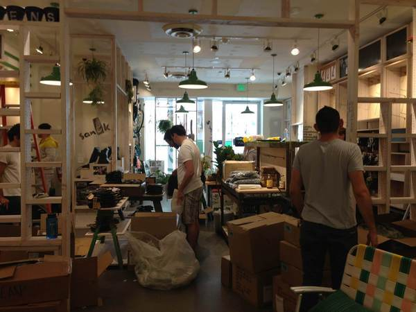 Sanuk store in Santa Monica