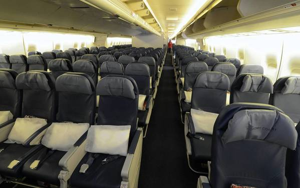 Shrinking space for airline passengers can pit them against one another, particularly when they want to recline their seats.
