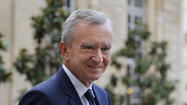 PARIS -- France's richest man, Bernard Arnault, the billionaire head of luxury goods group Louis Vuitton Moët Hennessy, has withdrawn his application for Belgian citizenship amid criticism that he was seeking to escape French taxes.