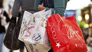 Consumers shopping during a chilly March gave retail sales for the month a half-hearted push, with spending weighed down by the bitter weather, sequestration worries, ongoing economic weakness and an earlier Easter that shaved off a full selling day.