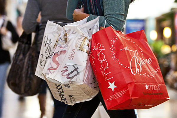 Retail sales grew in March, but not as much as they had the year before.