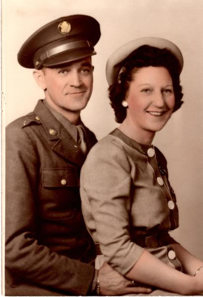 Bertha Russell and her husband Ralph Russell