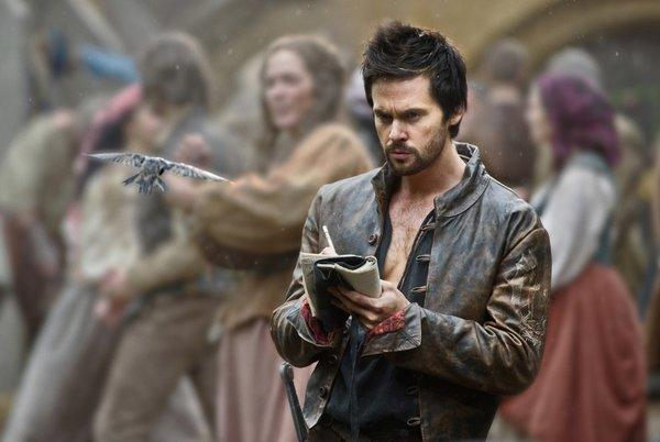 "Tom Riley in a scene from ""Da Vinci's Demons."""