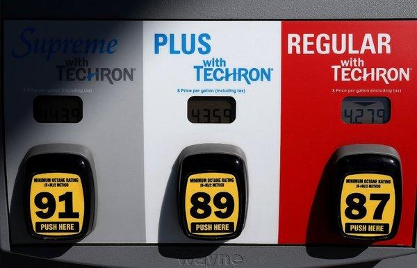 Average gasoline prices of more than $4 a gallon in California are expected to slowly disappear by summertime, dropping to as low as $3.84 a gallon by August.
