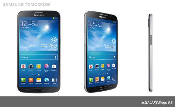 Samsung is rolling out two new Galaxy Mega smartphones that will feature 5.8-inch and 6.3-inch screens.