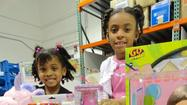 Evanston resident Kai Strickland, with an assist from her family and friends, is giving to children and teens fighting cancer. When the recently turned eight-year-old decided to ask her guests to bring toy donations to her birthday party being hosted by her family at See Jane Sparkle, they came through in a big way. After the celebration was over, Kai and the party attendees had accumulated more than 20 toys to donate to the Pediatric Oncology Treasure Chest Foundation (POTCF), an Orland Park-based, non-profit organization which provides toys and gift cards to childhood cancer patients.