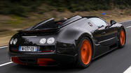 Bugatti Grand Sport Vitesse world record