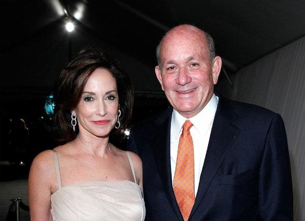 Bruce Karatz and his wife, Lilly Tartikoff Karatz, seen at MOCA's 2011 gala, are now members of the museum's Board of Trustees.