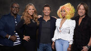 """American Idol"" mixed strong songstresses and self-indulgent judges for a rocky, two-hour program Wednesday. But the Fox singing contest still had the most viewers locally and nationally."