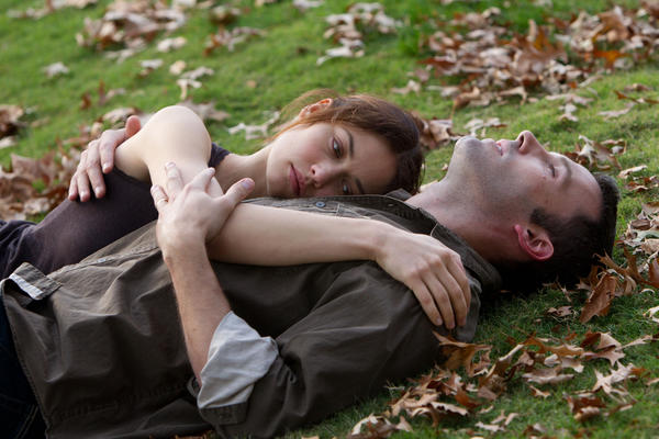 "Olga Kurylenko and Ben Affleck in Terrence Malick's ""To the Wonder."""