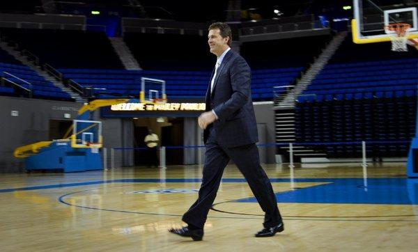 Steve Alford's comments about former Iowa player Pierre Pierce were criticized when Alford was the Hawkeyes' coach, and again when Alford was introduced at Pauley Pavilion as UCLA's new coach.