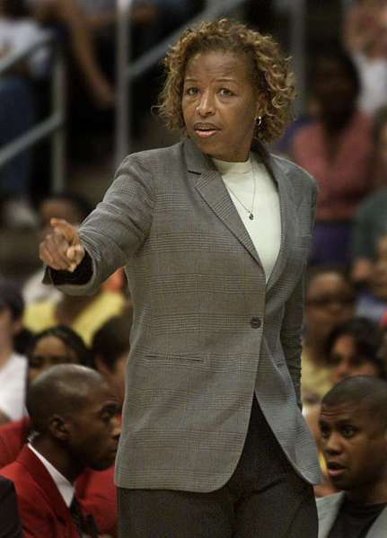 Cynthia Cooper-Dyke has an eight-year coaching record of 150-106.
