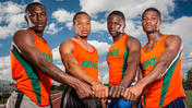 Video:  Jones H.S. 4x100m relay team eyes state title