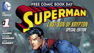 DC Comics To Release Superman: Last Son of Krypton Special Edition For National Free Comic Book Day