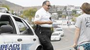 Driving along Cliff Drive on a recent Monday, Laguna Beach civilian officer Alfred Casas spotted a 19-year-old holding a skateboard.