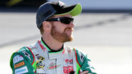 Dale Earnhardt Jr. said Thursday he had no issues with Texas Motor Speedway's decision to have the National Rifle Assn. as the title sponsor of the NASCAR Sprint Cup race Saturday night.