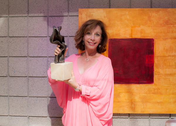 Actress, comedian and author Rita Rudner hosted the Art Stars Awards at [seven-degrees] on Sunday.