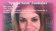 32-yr-old, Sarah Zeitlin, is having a silent auction in order to pay for her breast cancer medical bills.