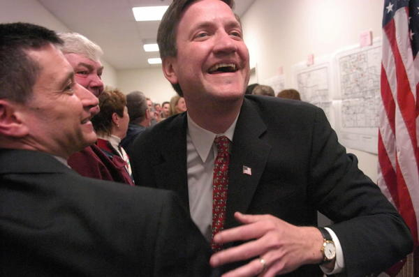 Republican state Rep. David McSweeney, seen here in 2006, is pushing a bill to ask voters to get rid of the lieutenant governor's office.