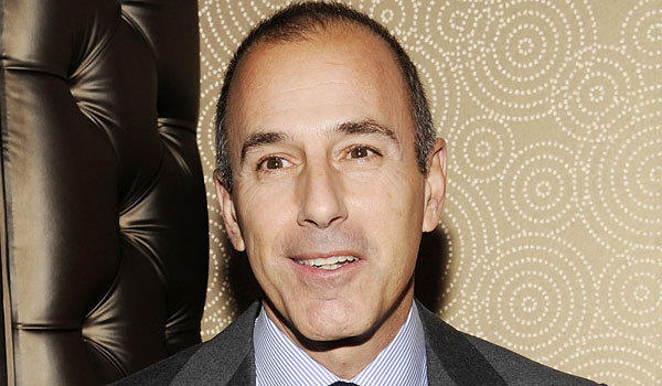 """Today"" host Matt Lauer."