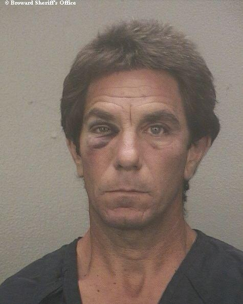 Terrance Marino, 49, was arrested and accused of stealing sod from lawns in a Fort Lauderdale neighborhood