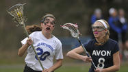 Glastonbury vs. Avon girls lacrosse