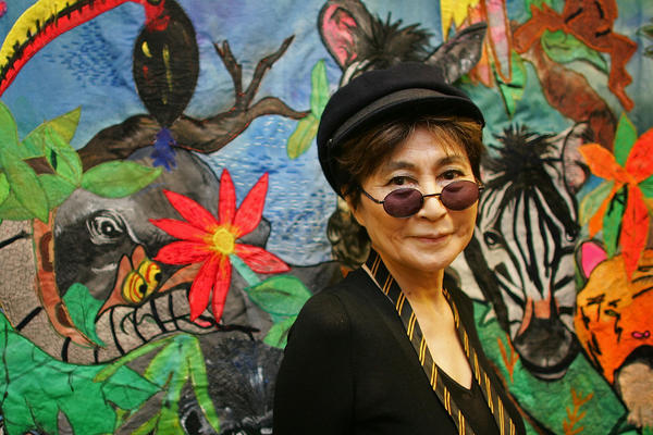 "Yoko Ono will publish a new book, ""Acorn,"" in June."