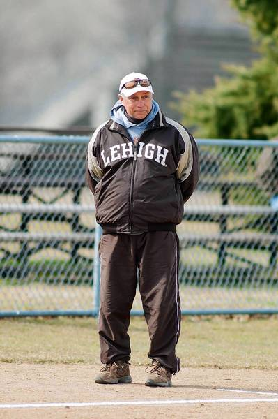 Lehigh softball coach Fran Troyan is closing in on 600 wins.