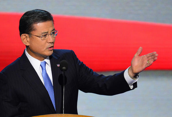 Gen. Eric Shinseki at the 2012 Democratic National Convention in Charlotte, North Carolina.