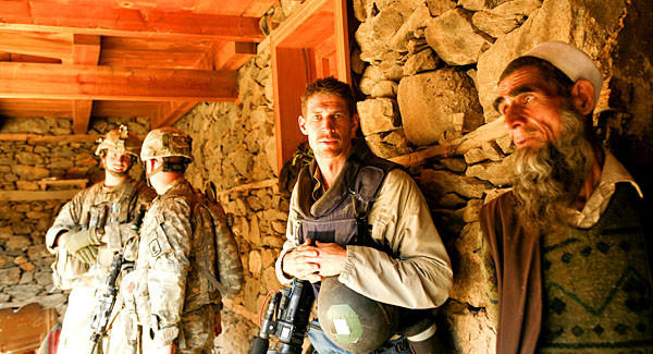 """A scene from """"Which Way Is the Front Line From Here?: The Life and Time of Tim Hetherington."""""""