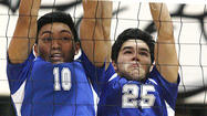 Photo Gallery: Burbank vs. Crescenta Valley Pacific League boys volleyball