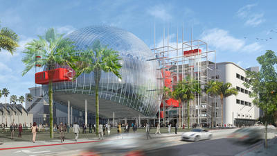 Motion Picture Academy unveils new drawings for film museum
