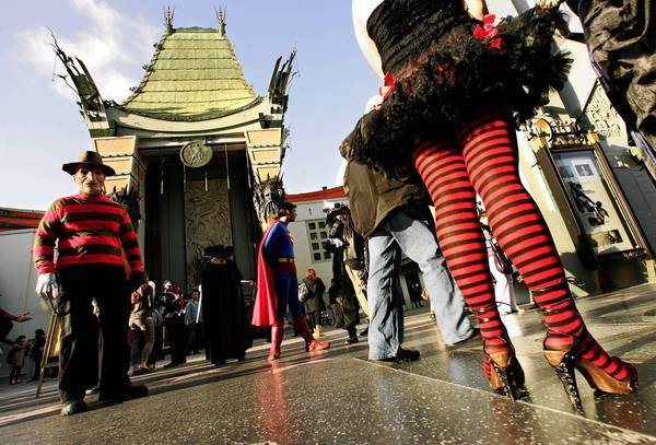 The former Grauman's Chinese Theatre, shown in 2009, is one of the biggest tourist draws in L.A.