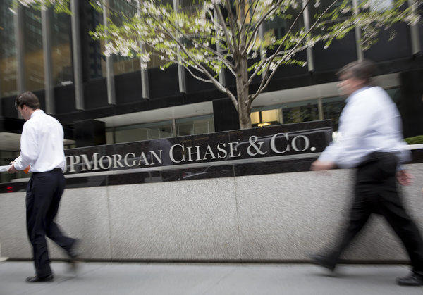 JPMorgan Chase & Co. offices in New York.