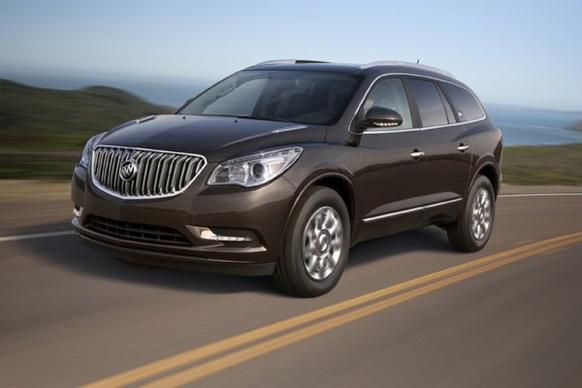 The Buick Enclave is one of three GM crossovers, along with the GMC Acadia and the Chevy Transverse, that can lay claim to coming closest to being truly American made, according to American University.