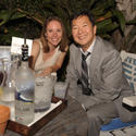 Stephanie Lamborn and Ken Jeong