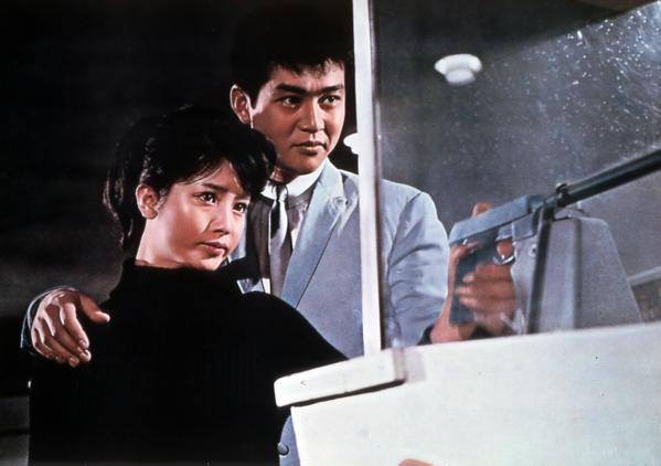 """A scene from the 1966 Seijun Suzuki film """"Tokyo Drifter"""""""