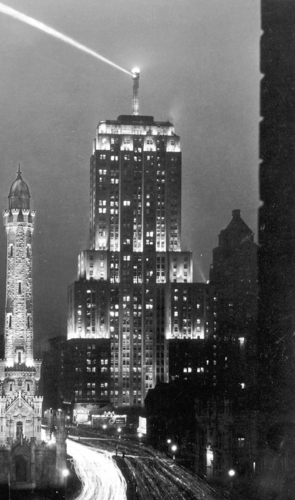Chicago's Palmolive Building in 1930.