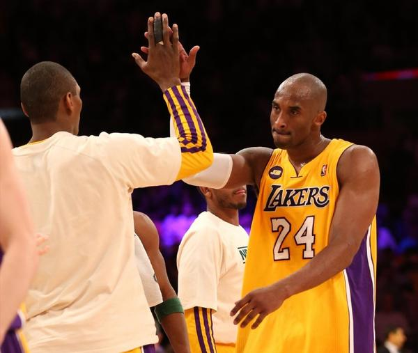 Kobe Bryant has averaged 45 minutes a game over the last six games.