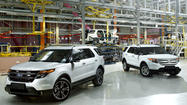 Ford begins building Explorers in Russia to meet rising demand