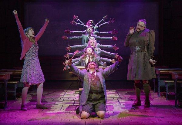 """Matilda: The Musical"" opened on Broadway at the Shubert Theatre. (Joan Marcus / Associated Press / April 11, 2013)"
