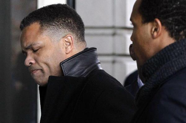 Jesse Jackson Jr. arrives at U.S. District Court in Washington, D.C.