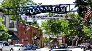 California's Pleasanton lives up to its
