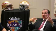 TALLAHASSEE -- Florida State and Notre Dame will indeed play one another inside Doak Campbell Stadium during the 2014 season. ACC commissioner John Swofford made the announcement official to FSU administrators Friday afternoon, after it had previously been reported that the schools were close to making the game take place.